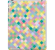 The pattern in squares iPad Case/Skin