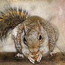 Blonde Squirrel by kayzsqrlz