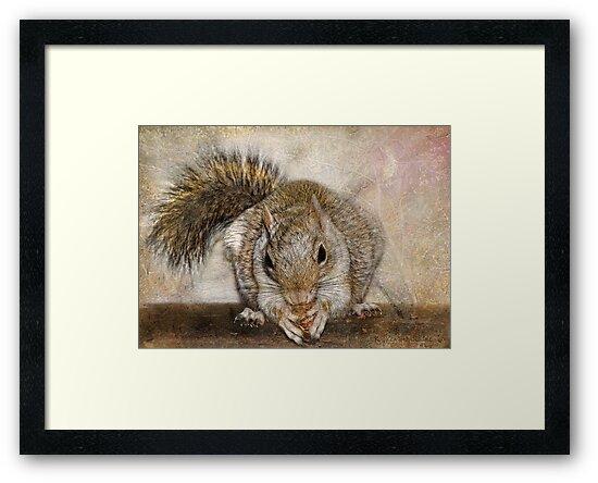 Blonde Squirrel by Kay Kempton Raade