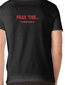 Frak This Mens V-Neck T-Shirt