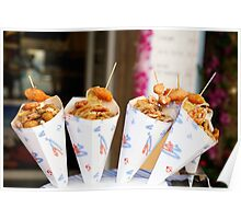 Italian Street Food Poster