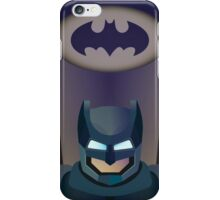 Vector helmet of batman iPhone Case/Skin