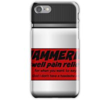 eerie indiana hammerin advert - from ATM with a Heart of Gold iPhone Case/Skin