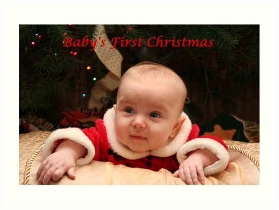 Baby's First Christmas by DebbieCHayes