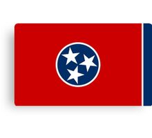 State Flags of the United States of America -  Tennessee Canvas Print