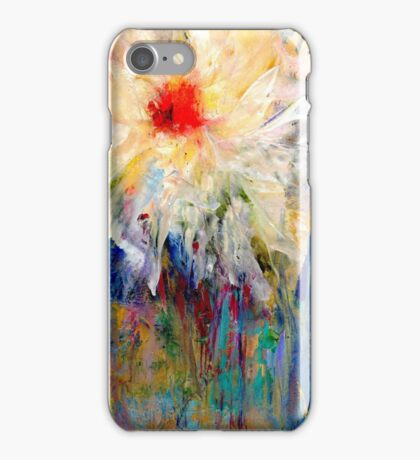 Gradiflora Abstract Study iPhone Case/Skin