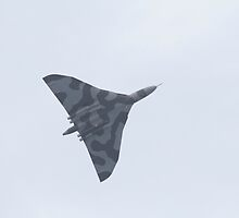 Avro Vulcan XH558 spirit of Great Britain at AIRBOURNE 2015 by Keith Larby