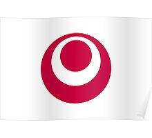 Flag of Okinawa Prefecture Japan Poster