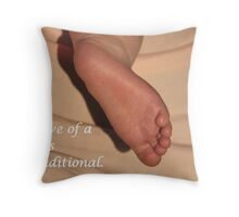 A Child's Love is Unconditional Throw Pillow