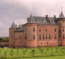 Castle Muiderslot by Jo Nijenhuis