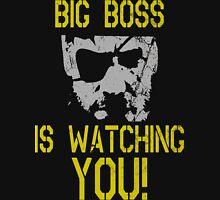 Big Boss Is Watching You! Mens V-Neck T-Shirt