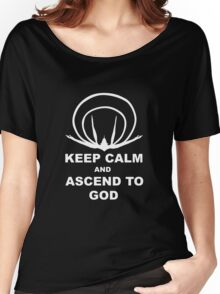 Evangelion- Ascend to God Women's Relaxed Fit T-Shirt
