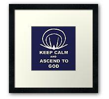 Evangelion- Ascend to God Framed Print