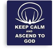 Evangelion- Ascend to God Canvas Print