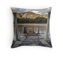 A Strathgordon view of Lake Pedder Throw Pillow