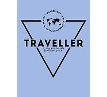 Traveller Photographic Print