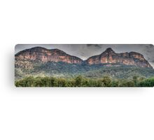 Rock Of Ages - Capertee Valley, NSW Australia - The HDR Experience Canvas Print