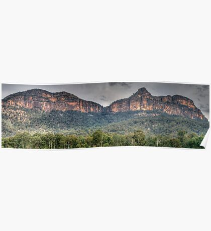 Rock Of Ages - Capertee Valley, NSW Australia - The HDR Experience Poster