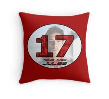 Jules Bianchi Tribute Throw Pillow
