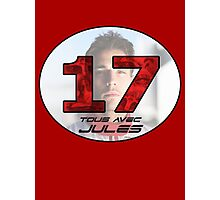 Jules Bianchi Tribute Photographic Print