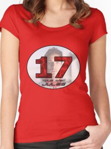 Jules Bianchi Tribute Women's Fitted Scoop T-Shirt