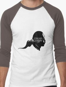 Omar is comin' Men's Baseball ¾ T-Shirt