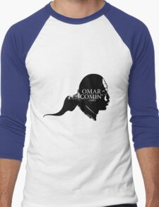 Omar is comin' Men's Baseball ¾ T-Shirt
