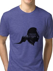 Omar is comin' Tri-blend T-Shirt