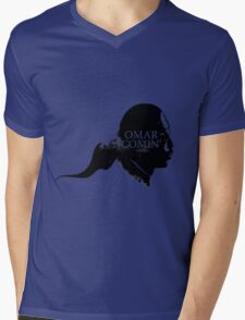 Omar is comin' Mens V-Neck T-Shirt