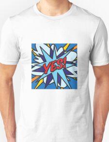 Comic Book YES! T-Shirt