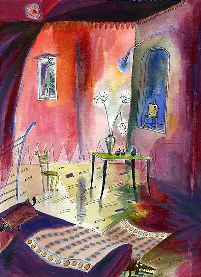 Room with Hidden Things by Marianna Tankelevich