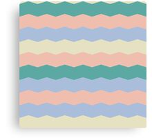Tracery with striped  Canvas Print