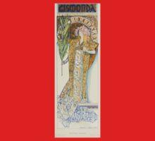 Les Affiches Illustrees 1886 1895 Ouvrage Orne de 64 Ernest Maindron Jules Cheret 1896 0221 Cismonda One Piece - Short Sleeve