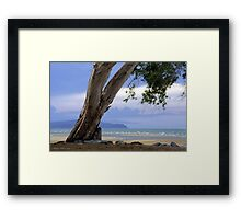 Shoal Point - Mackay Framed Print