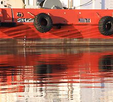 """""""Red Reflections""""   Fremantle, Western Australia by Chris Luget"""