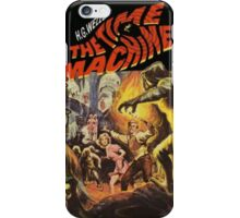 CLASSIC TIME MACHINE SCI FI iPhone Case/Skin