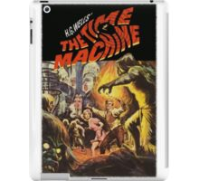 CLASSIC TIME MACHINE SCI FI iPad Case/Skin