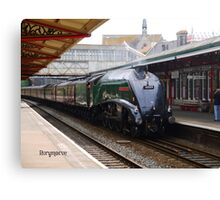 LNER 60009 'Union of South Africa' at Teignmouth Canvas Print