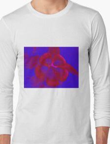 Red Blue Flower T-Shirt