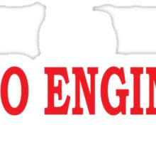SMART GOOD LOOKING & AUDIO ENGINEER IT DOESN'T GET ANY BETTER THAN THIS Sticker