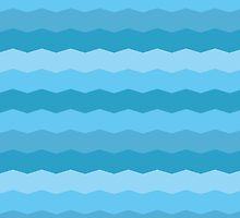 Striped sea pattern by alijun