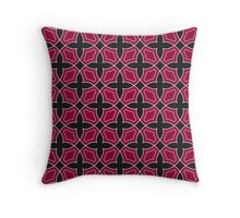 Background in the style of the Arab ornament Throw Pillow