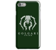 A Green Black Insect iPhone Case/Skin