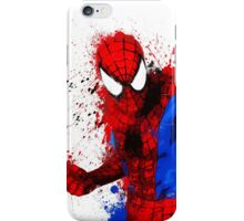 Web-Head - Splatter Art iPhone Case/Skin