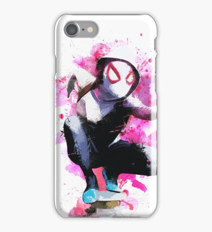 Spider-Gwen - Splatter Art iPhone Case/Skin
