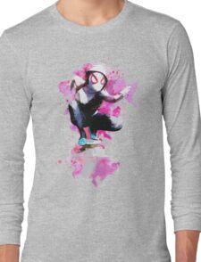 Spider-Gwen - Splatter Art Long Sleeve T-Shirt