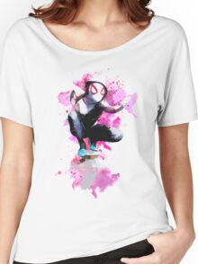 Spider-Gwen - Splatter Art Women's Relaxed Fit T-Shirt