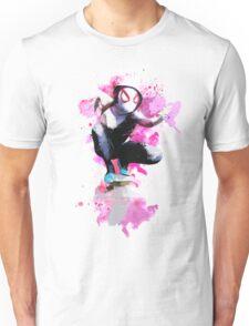 Spider-Gwen - Splatter Art Unisex T-Shirt