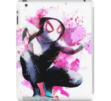 Spider-Gwen - Splatter Art iPad Case/Skin