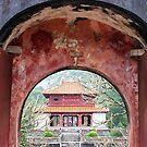 Doorway to the past - Hue, Viet Nam. by Jordan Miscamble